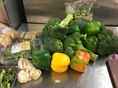 Wonderful variety of vegetables
